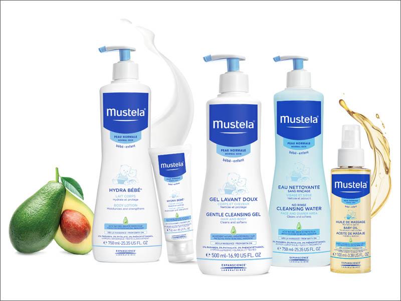 Mustela Skincare Range