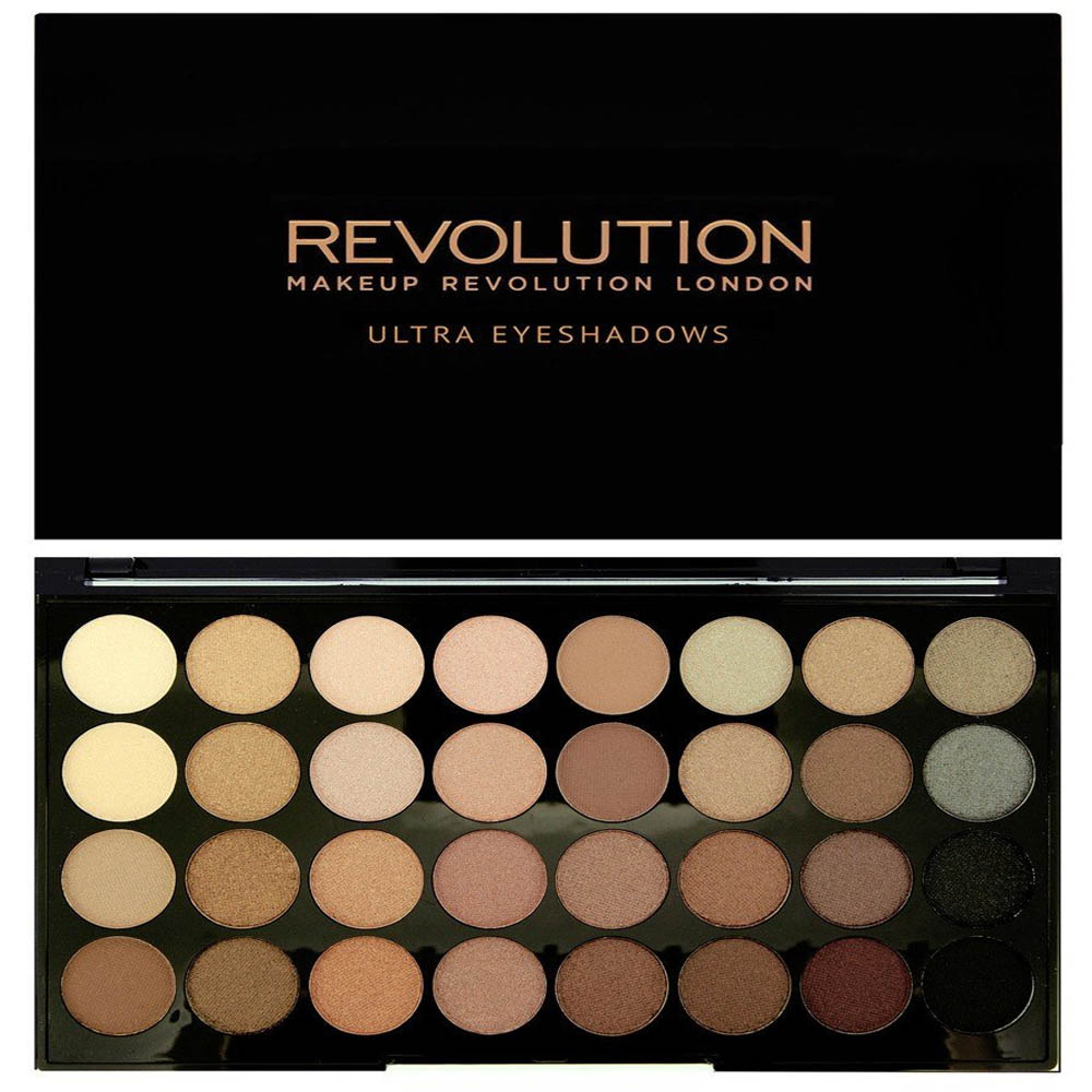 Makeup Revolution Ultra 32 Eyeshadow Palette Beyond Flawless - Peak Pharmacy