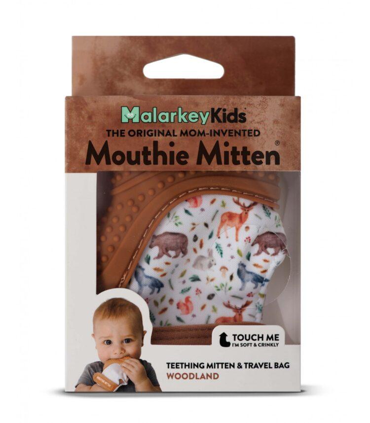 mouthie mitten woodland