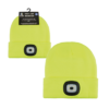 Adult Yellow LED Beanie Hat