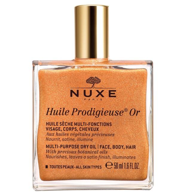 nuxe huile prodigieuese gold