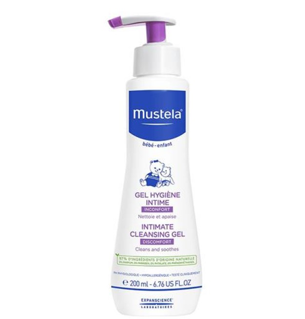 Mustela intimate cleansing gel