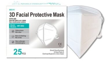 KN95 and FFP2 facemasks online Ireland from as low as €2
