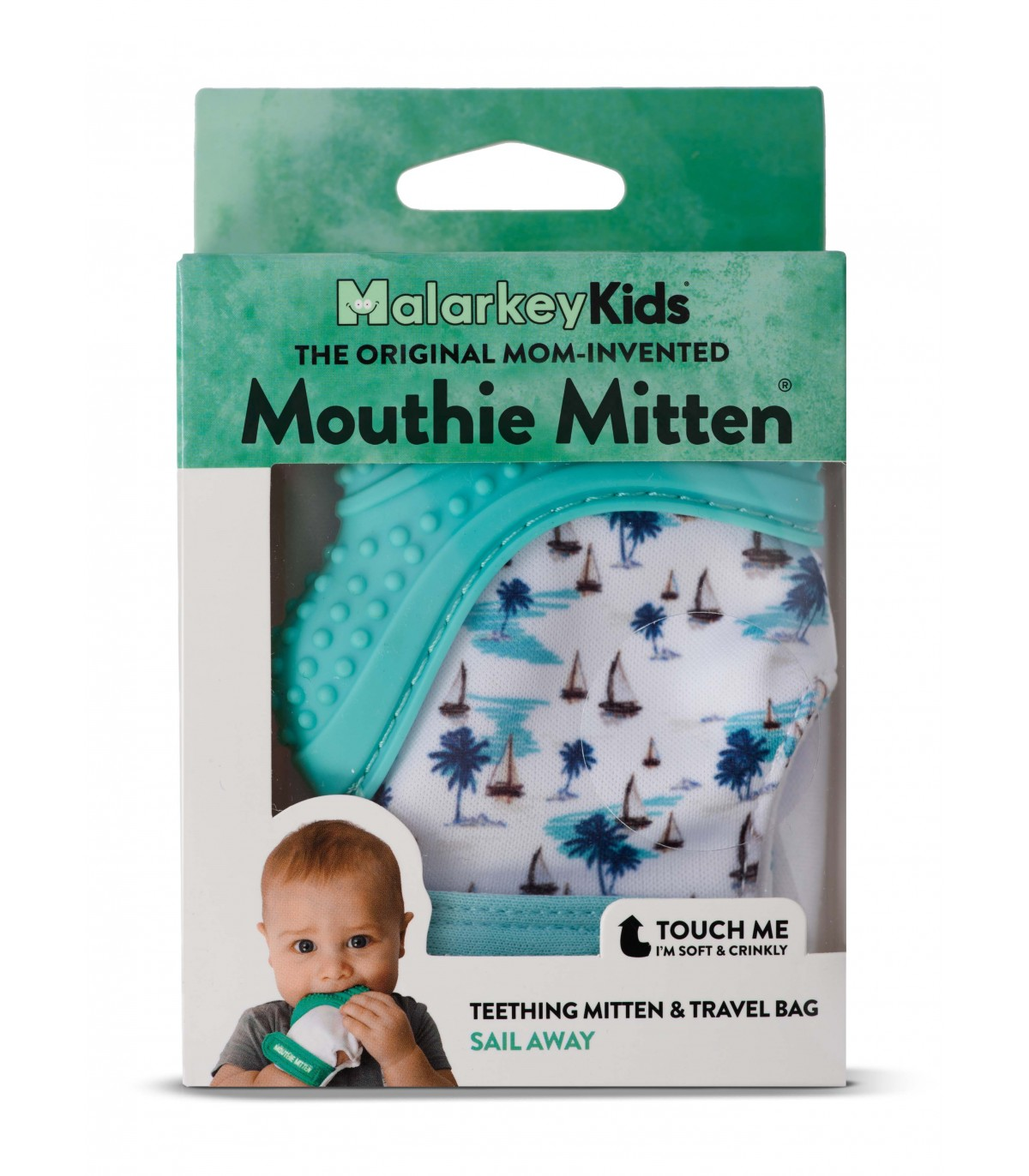 Is your baby teething ? Have you heard of Mouthie Mittens ?