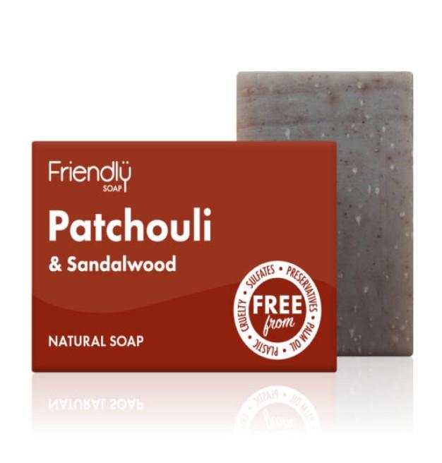 patchouli and sandalwood