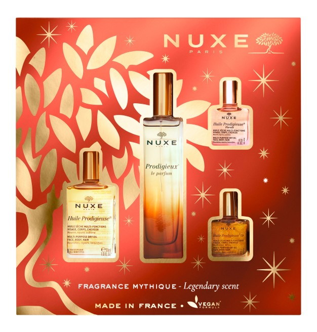 Nuxe legendary scent gift set